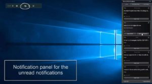 Notification Panel