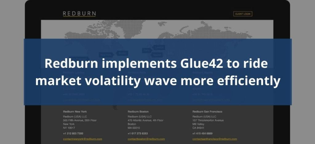 Redburn Implements Glue42