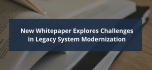 Modernizing Legacy Systems Whitepaper Cover Image
