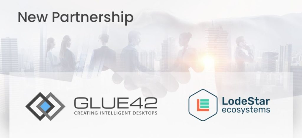 New Partnership Glue42 LodeStar Ecosystems