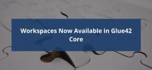 Glue42 Core Workspaces Header