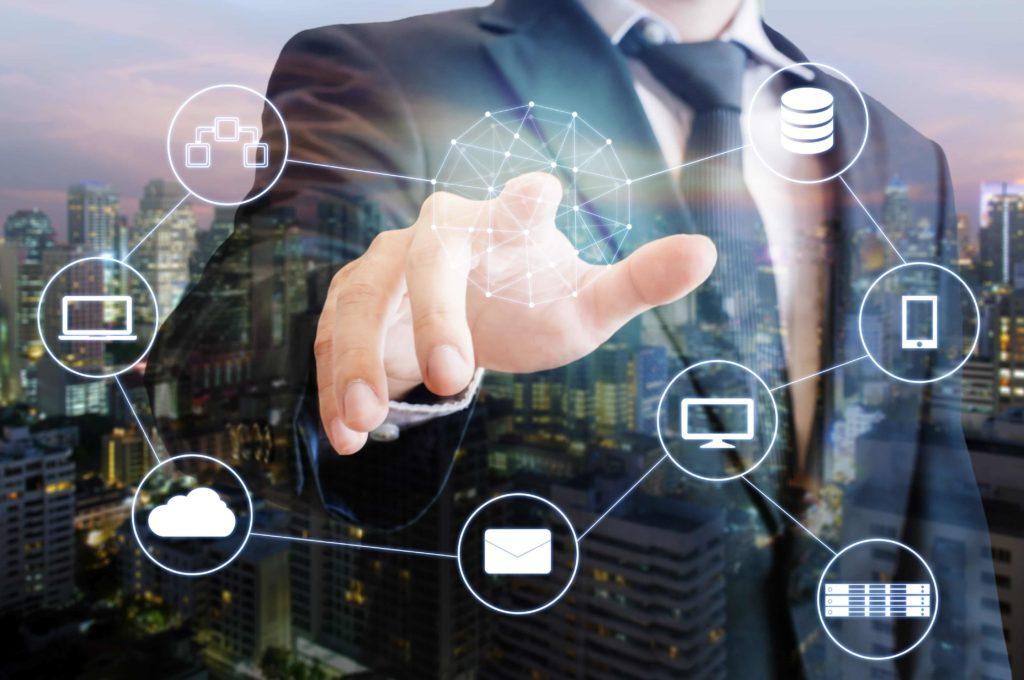 Desktop Integration Platform Concept Visualization