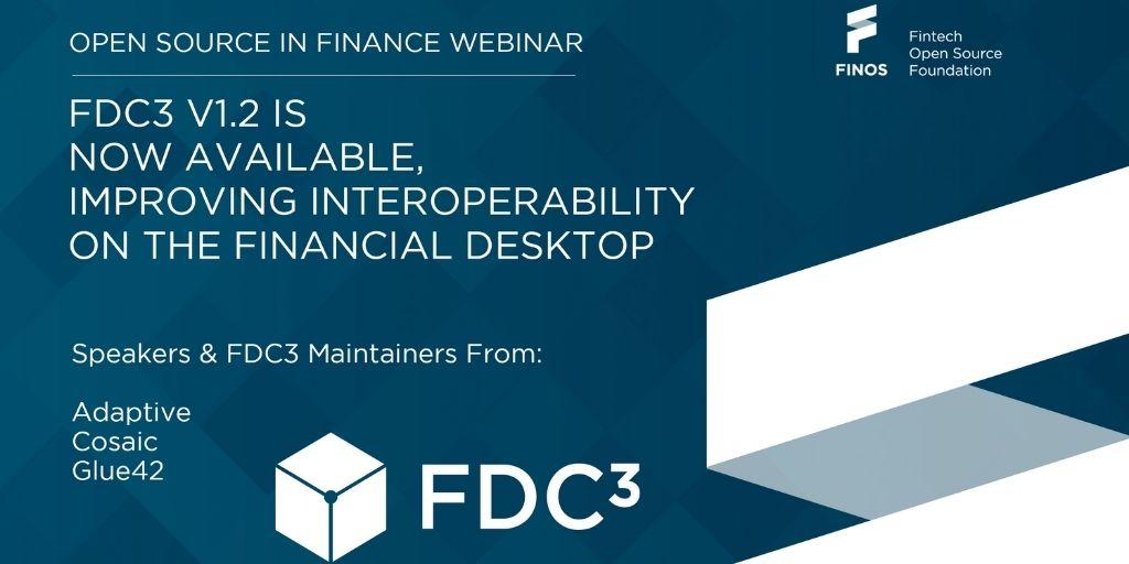 FDC3 V1.2 FINOS meetup